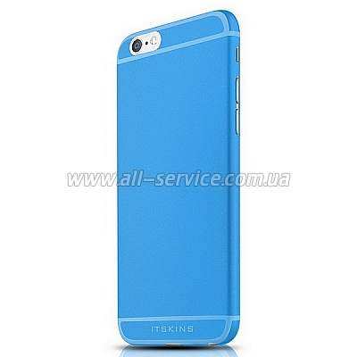 Чехол ITSKINS ZERO 360 for iPhone 6 Plus Blue (AP65-ZR360-BLUE)