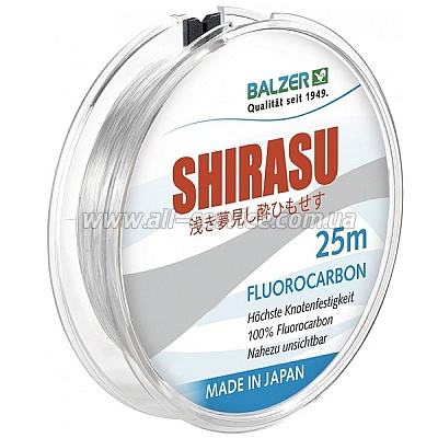 ����� Balzer Shirasu Fluorocarbon 0.25��. 25�. Made in Japan (12092 025)