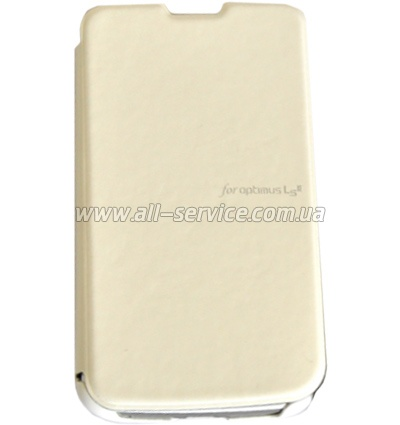 Чехол VOIA LG Optimus L3II Dual - Flip Case White