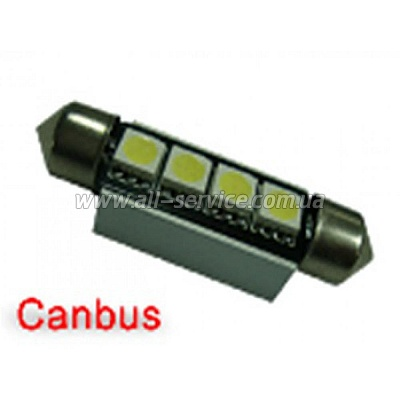Габарит IDIAL 447 T10 4Led 5050 SMD CAN (2шт)