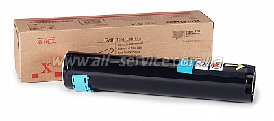 Тонер картридж Xerox PH7750 Cyan (106R00653)
