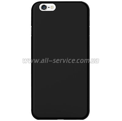 Чехол OZAKI O!coat-0.3-Jelly iPhone 6 Black (OC555BK)