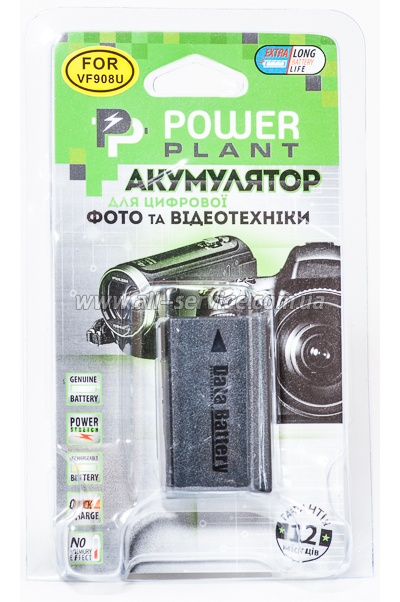 Аккумулятор PowerPlant JVC BN-VF908U (DV00DV1333)