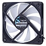 Корпусный вентилятор FRACTAL DESIGN Silent Series R3 120mm (FD-FAN-SSR3-120-WT)