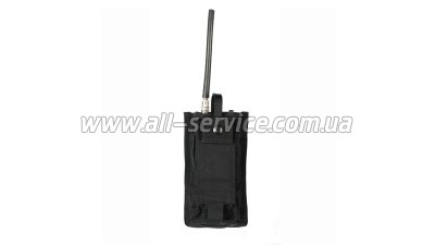 Подсумок BLACKHAWK MBITR Radio Pch w/Speed Clips black (38CL20BK)
