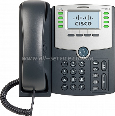 IP-телефон Cisco SB 8 Line IP Phone With Display, PoE and PC Port (SPA508G)
