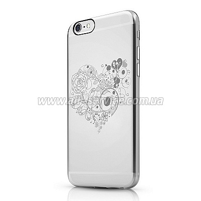 Чехол ITSKINS Bling for iPhone 6 Transparent (APH6-BLING-BLG2)