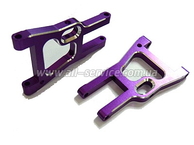 (02161) Purple Alum Front Lower Arm 2P