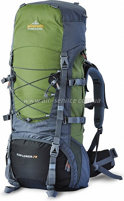 Рюкзак PINGUIN EXPLORER 75-new green/gray (PNG 3019.003)