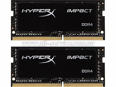 Память 8GB*2 Kingston HyperX Impact DDR4 2133Mhz KIT (HX421S13IBK2/16)
