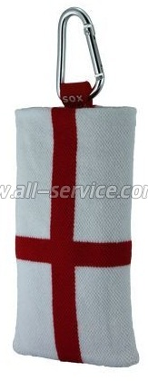 Чехол SOX EASY FLAG ENGLAND DOUBLE-SIDED (EF B/N 07)