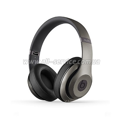Наушники Beats Studio 2 Over-Ear Titanium (MHAD2ZM/A)