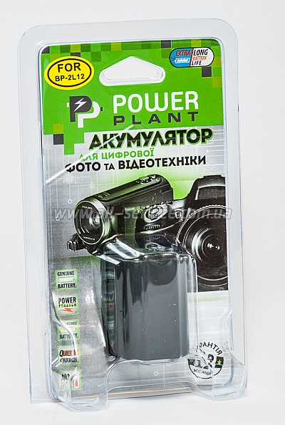 Аккумулятор PowerPlant Canon NB-2L12, NB-2L14 (DV00DV1004)