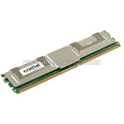 ������ Crucial DDR2 800 FB-DIMM ECC 2GB 1.8V CL-5 (CT25672AF80E)