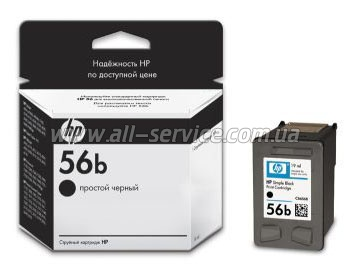 Картридж HP №56 DJ5550 black simple (C6656BE)