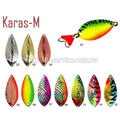 Блесна Fishing Roi  Karas-M 21гр. 7см. цвет-06 (C024-3-06)