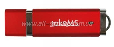 Флешка TakeMS MEM-Drive Easy II 4Gb Red (TMS4GUEA21R02)
