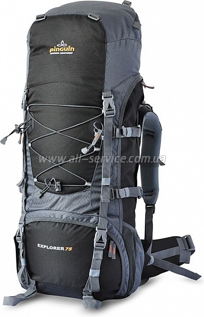 Рюкзак PINGUIN EXPLORER 75-new black/gray (PNG 3019.001)
