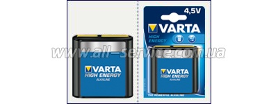 ��������� VARTA HIGH Energy 3LR12 BLI 1 ALKALINE (04912121411)