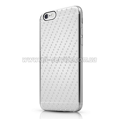 Чехол ITSKINS Bling for iPhone 6 Transparent (APH6-BLING-BLNG)
