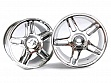 Chrome Star Spoke Wheel Rims 2P