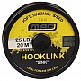 "Шнур поводочный DAM MAD Hooklink 4-braid ""Sink"" 20м 25lb (color-weed) (3724125)"