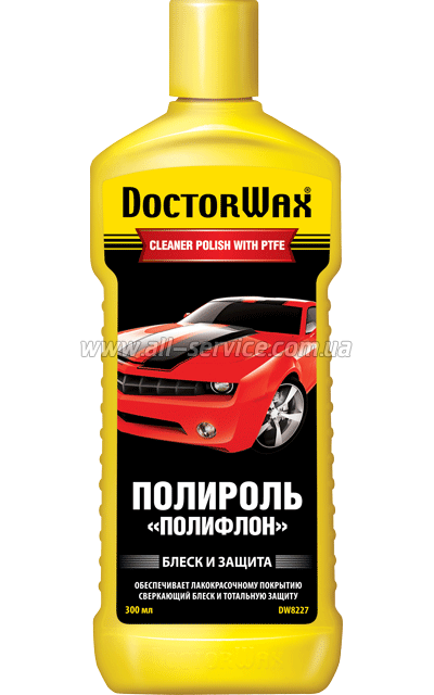 Полироль Doctor Wax DW8227