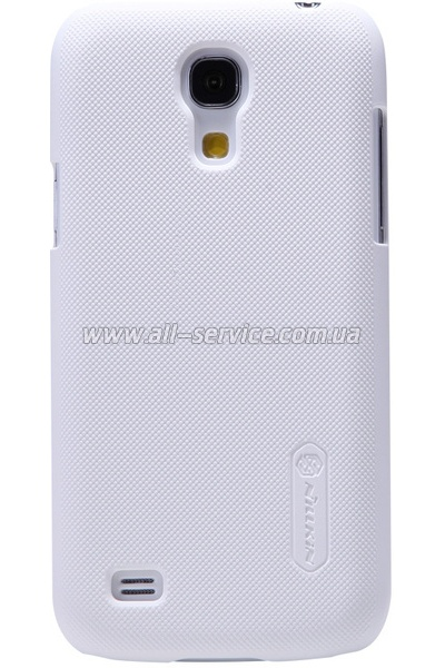 Чехол NILLKIN Samsung I9190 - Super Frosted Shield White
