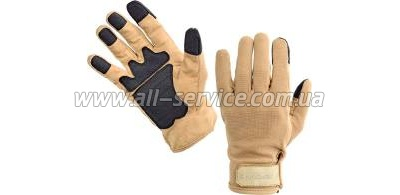 Перчатки Defcon 5 ARMOR TEX GLOVES WITH LEATHER PALM COYOTE TAN S coyote tan (D5-GL320PPG CT/S)