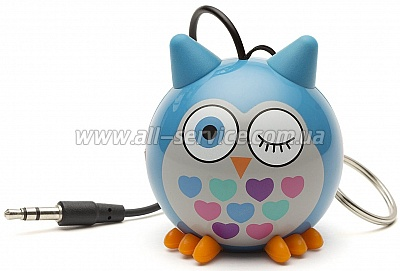 Колонки KS Mini Buddy Owl Blue (KSNMBOWLBL)