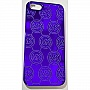 Чехол MICHAEL KORS Embossed Metallic Case for iPhone 5/5S/SE Blue (MK-METL-BLUE)