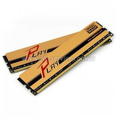 Память 16Gb GOODRAM DDR3 1600MHz PLAY Gold 2x8GB (GYG1600D364L10/16GDC)