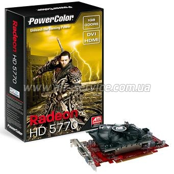 Видеокарта Powercolor 5770 1GB DDR5 (AX5770_1GBD5-H)