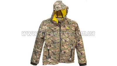 ������ Unisport Softsh 10 UNIVERS-TEX SOFTSHELL woodland camo (9669038-10)