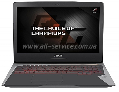������� ASUS G752VY-GC061T Gray (90NB09V1-M00630)