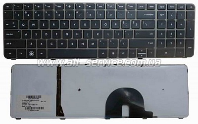 Клавиатура NB HP ENVY 17-1000 17-1100 17-1200 17-2000 17-2100 17-2200 17T-1000 17T-1100 17T-2000 17T-2100 BRONZE FRAME BLACK US BackLight