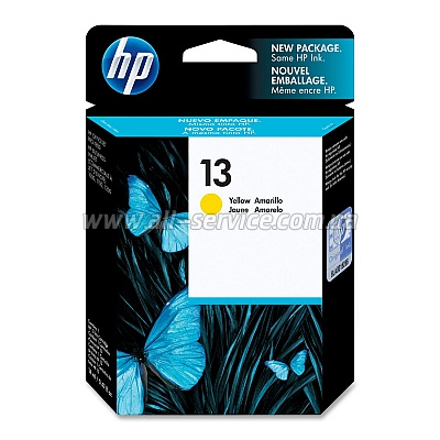Картридж HP №13 OJPro K850, BIJ 1000/ 1200dtwn/ 2300/ 2800 Yellow (C4817A)