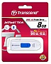 Флешка 8GB Transcend JetFlash 790 White (TS8GJF790W)