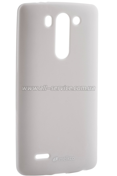 Чехол MELKCO LG LG3 S Beat/D724 Poly Jacket TPU Gray