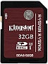 Карта памяти 32GB Kingston Ultimate SDHC Class10 UHS-I U3 90Mb/s (SDA3/32GB)