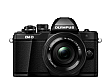 Зеркальный фотоаппарат OLYMPUS E-M10 mark II Pancake Zoom 14-42 Kit black/black (V207052BE000)