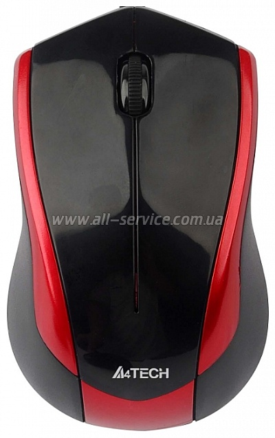 Мышь А4Tech G7-400N-2 red-black, USB