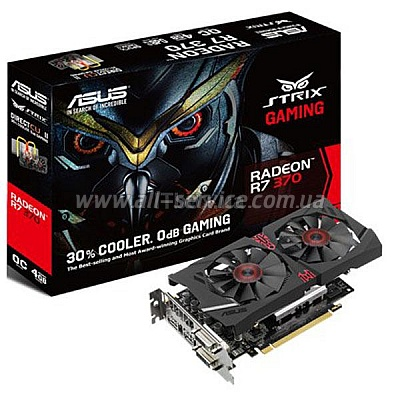 ���������� ASUS Radeon R7 370 2GB DDR5 GAMING STRIX (STRIX-R7370-DC2-2GD5-GAM)