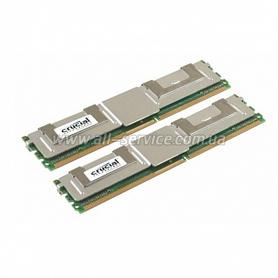 Память Crucial DDR2 800 2GB*2 Fully Buffered (CT2KIT25672AF80E)
