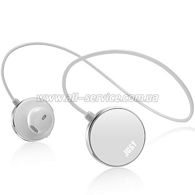 Bluetooth-гарнитура JUST Soul Bluetooth Headset White (SL-BLTH-WHT)