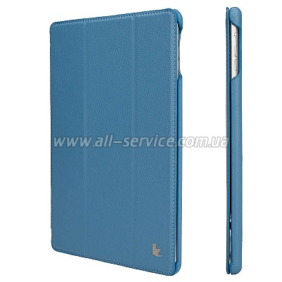 Чехол JISONCASE Ultra-Thin Smart Case for iPad Air Blue (JS-ID5-09T45)