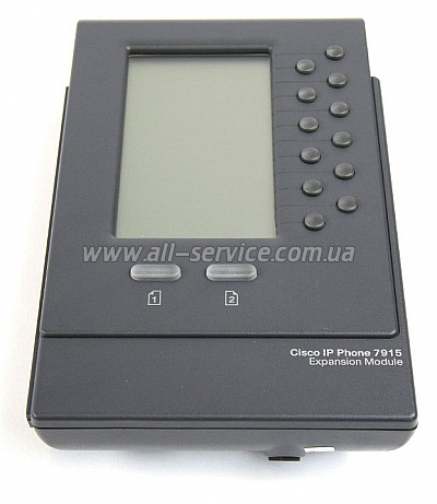 Системная консоль Cisco 7915 IP Phone Grayscale Expansion Module (CP-7915=)