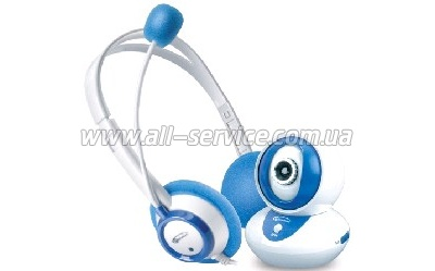 Web камера Gemix D10 KIT white/blue