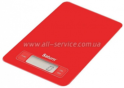 Весы Saturn ST-KS7235 Red