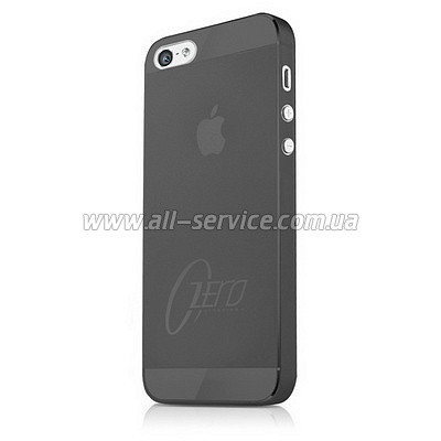 Чехол ITSKINS ZERO.3 for iPhone 5/5S/SE Black (APH5-ZERO3-BLCK)